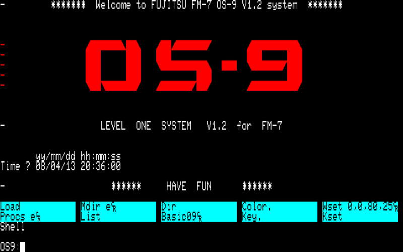 OS-9 Level I